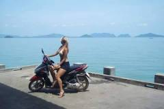 Thailand-Koh-Lanta-biking-around
