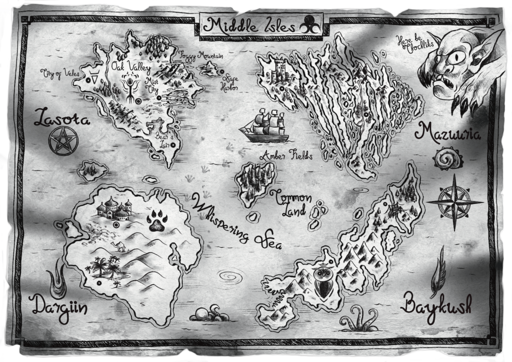 Incandescence Elena Leman Middle Isles Map medium
